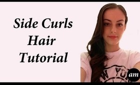 Side Curls Hair Tutorial