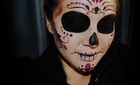 Halloween: Sylvia Ji inspired Sugar Skull