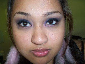 New Years Inspired Look : First Kiss Using I-Candy Couture Pigments www.i-candycouture.com
