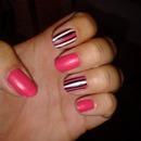 Pink zebra's