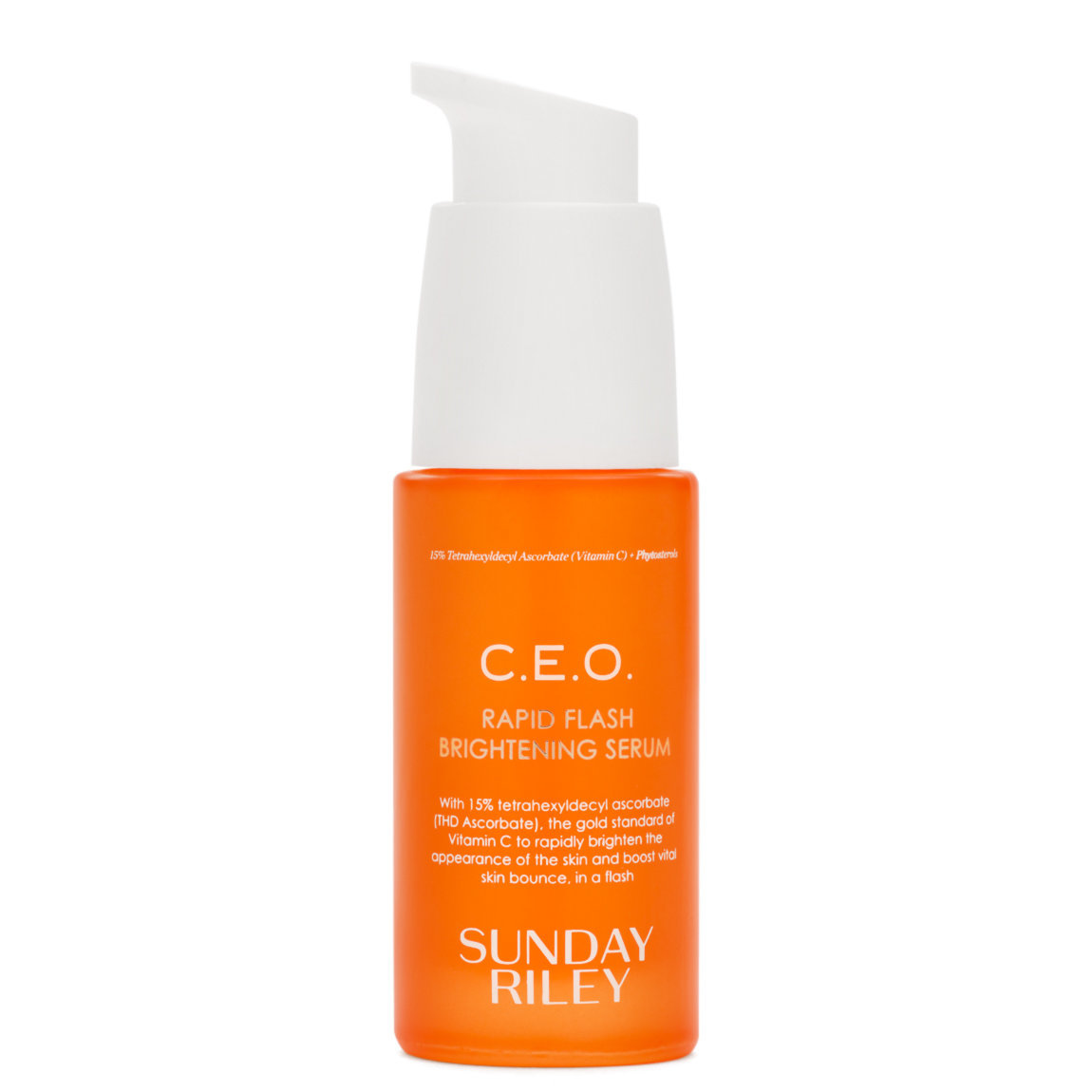 Sunday Riley C.E.O. Rapid Flash Brightening Serum product smear.