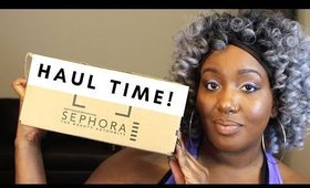 HAUL TIME | Colourpop/Sephora + Mini Reviews!