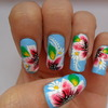 One Stroke Floral