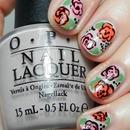 #nailartfeb Day 20: Floral