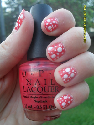 """OPI """"Bright Lights Big Color"""" Sinful Colors """"Snow Me White"""""""