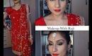 Diwali Karwachauth romantic makeup tutorial 2013    Raji Osahn