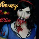 Zombies of Disney Snow White Makeup Tutorial Trailer
