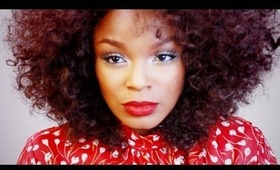 """Inexpensive """"BIG NATURAL HAIR"""" (Wig Transformation)  Beshe Lace 31"""