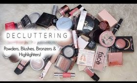 MAKEUP DECLUTTER PART TWO! | Decluttering 80 PRODUCTS!!!