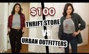 $100 Thrifted VS $100 at Urban Outfitters! Clothing Haul