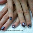 Galaxy Nails w/ Lizzie