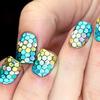 Ocean Mermaid Nails