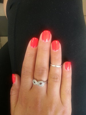 This picture does not do this color justice. It is like blinding it's so neon.