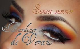 Atardecer de Verano / Summer Sunset eye makeup