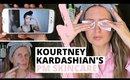 TESTING KOURTNEY KARDASHIAN'S EVENING SKINCARE ROUTINE & WHAT I LEARNT | Ep1