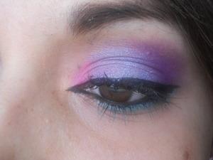 iridescent purple