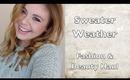 Sweater Weather Fashion & Beauty Haul | browslasheslips // maricelinwonder