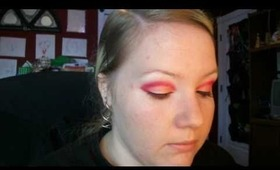 Bright Coral Inspired Tutorial