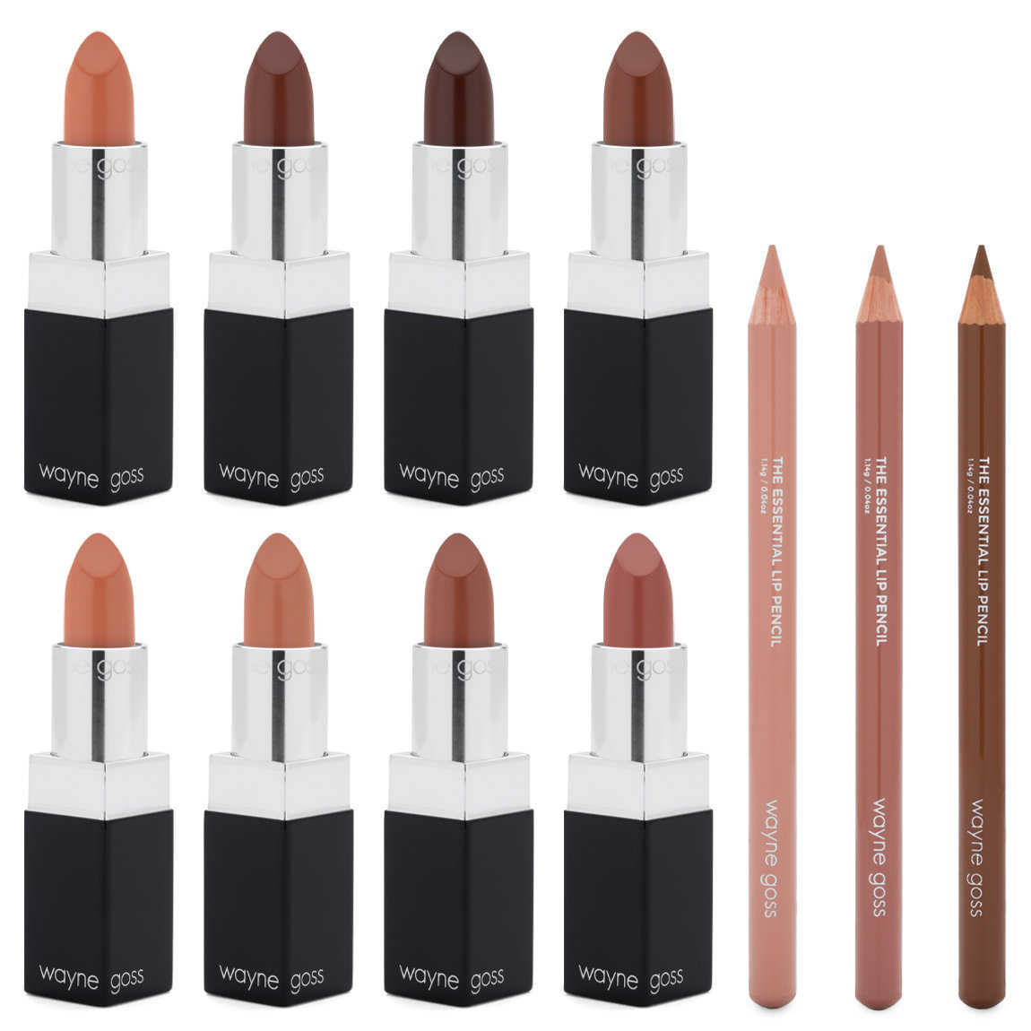 Wayne Goss The Nude Luxury Lip Collection alternative view 1 - product swatch.