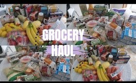 GROCERY HAUL   ORGANIC HEALTHY GROCERY HAUL   WHAT I EAT IN A DAY