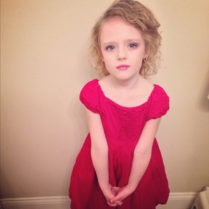 Did my five year old sisters make up :) so beautiful