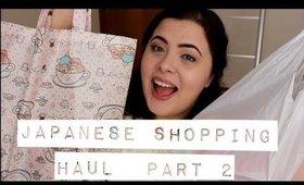 Japanese SHOPPING haul | PART 2