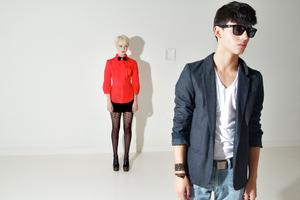 {credits} photo: Patrick Rafanan models: Juliano, and Page with LOOK Agency SF makeup: S Cindy Crabtree (Moonshine Makeup Artist)