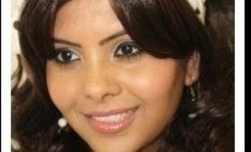 Youtube Bollywood Retro Makeup - 70's Indian Makeup On Pakeezah Chalte Chalte Instrumental