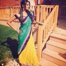 Me in a sari ❤️