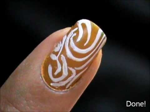 lovely one minute nail art easy nail designs short nails