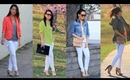 Styling :: 4 Looks & 1 Pair of White Pants