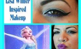 PlayDate Elsa Winter Inspired Makeup Look