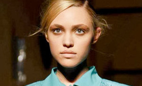 Francesco Scognamiglio Makeup, Milan Fashion Week S/S 2012
