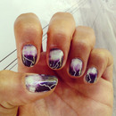 Lightning Storm Nail Decals