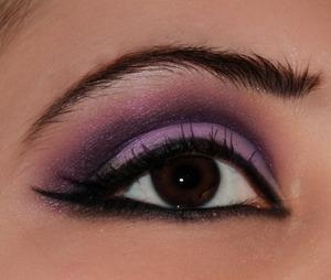 Bratz: Yasmin inspired make up look with double winged eyeliner.