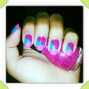 Pink and blue :)