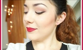 """""""Family Appropriate"""" Christmas Makeup Tutorial"""