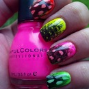 Neon Feathers