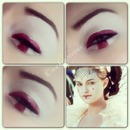 star wars Padme makeup look