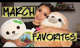 March 2016 Favorites || Makeup, Beauty, and More!
