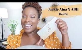 Jackie Aina X ABH Palette   Simple Makeup Look   iamKeliB