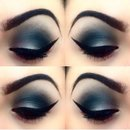 My smokey eye look, what do you think?