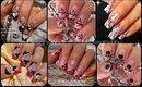 ♥ Valentine's Day Nail Art Compilation ♥ Compilación de Diseños de Uñas San Valentín