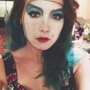 'Floorshow Janet' Rocky Horror Show makeup (part 1)