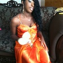 my daughter on her way to prom