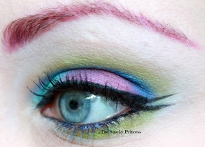 Bright, Bold, and inspired by Evanescence for some reason.