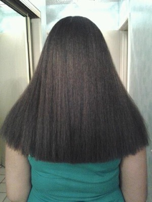Agave smoothing treatment results
