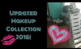 Makeup Collection Updated! | Angela Marie