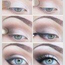 Beautiful eye make up