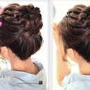 Ponytail Braid Bun hairstyle | Hair Tutorial Video